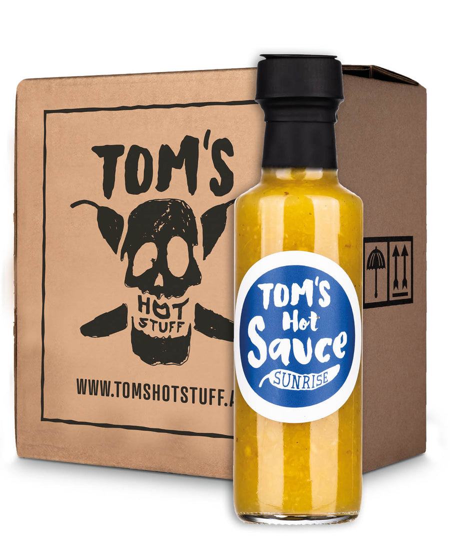 TOM'S HOT SAUCE - Sunrise (SIXPACK)