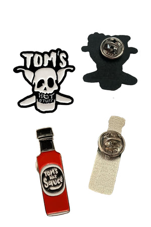TOM'S EMAILLE-PINS