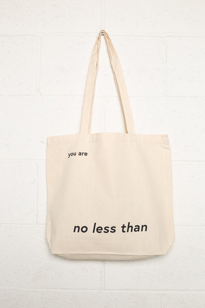 No Less Than Tote