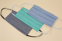 Suzy Mask - Assorted Gingham - 3 Pack