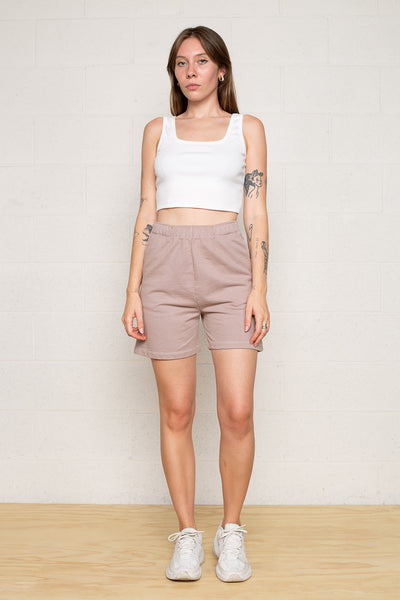 Easy French Terry Sweat Short - Mocha