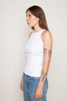 Hi-Neck 2x1 Tank (Regular Length) - Ivory