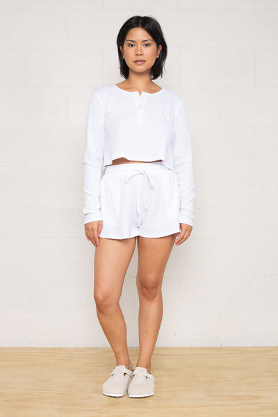 Thermal Shorts - White