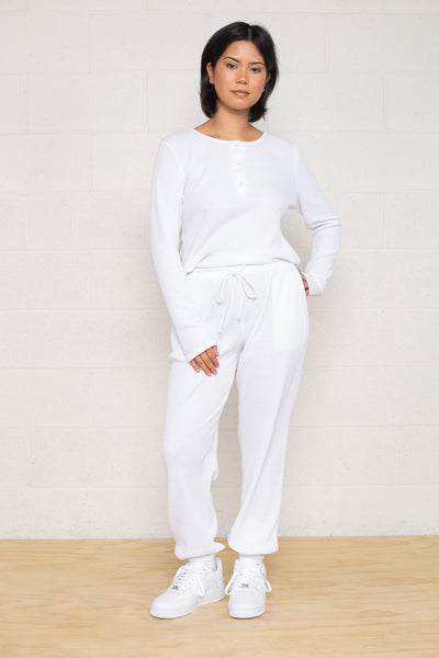 Thermal Jogger - White