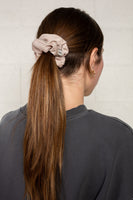 Satin Scrunchie - Washed Stone