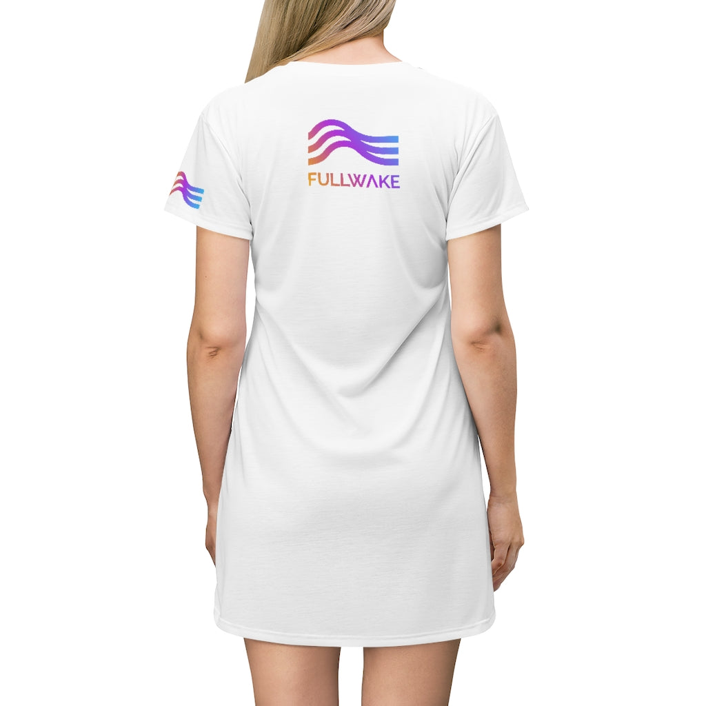 Sunset Wave Lake Dress