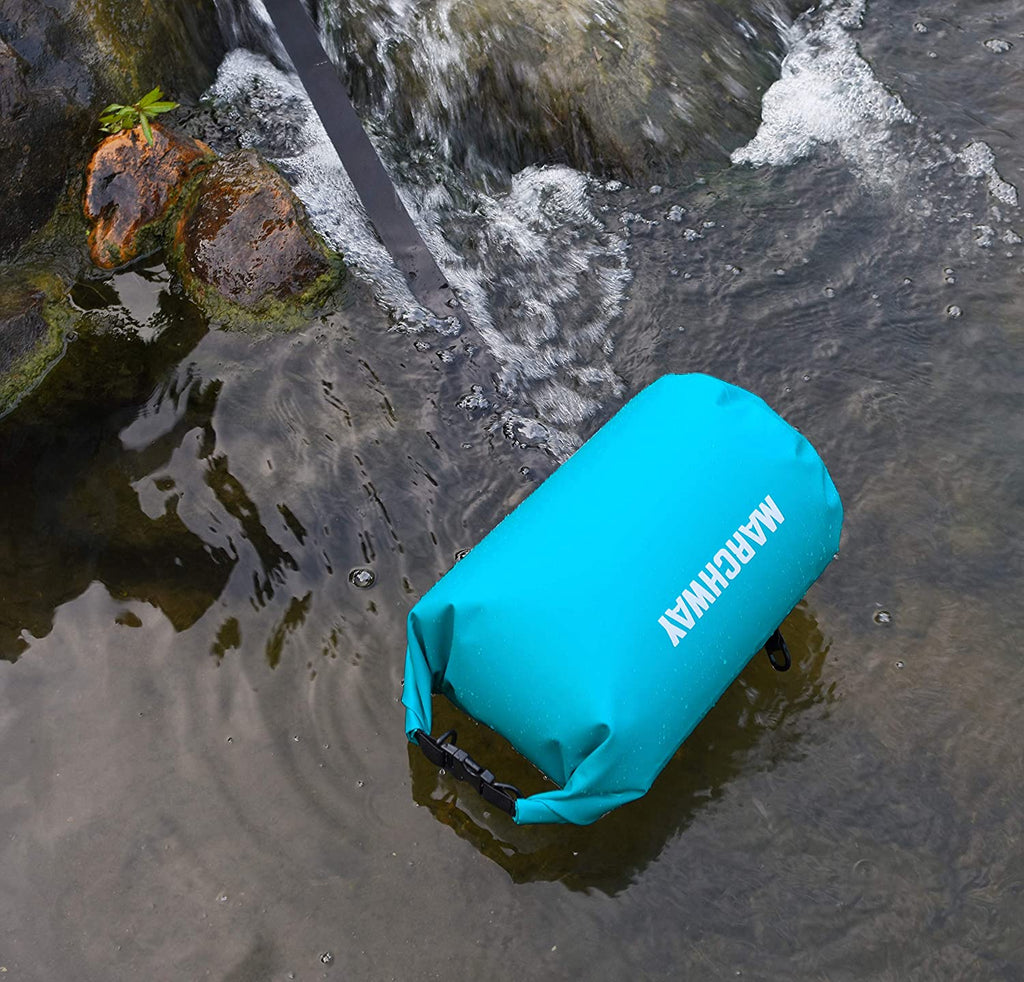 Camping Hiking Roll Top Sack Keeps Gear Dry for Kayaking Boating MARCHWAY Floating Waterproof Dry Bag 5L//10L//20L//30L//40L Fishing Swimming Beach Rafting