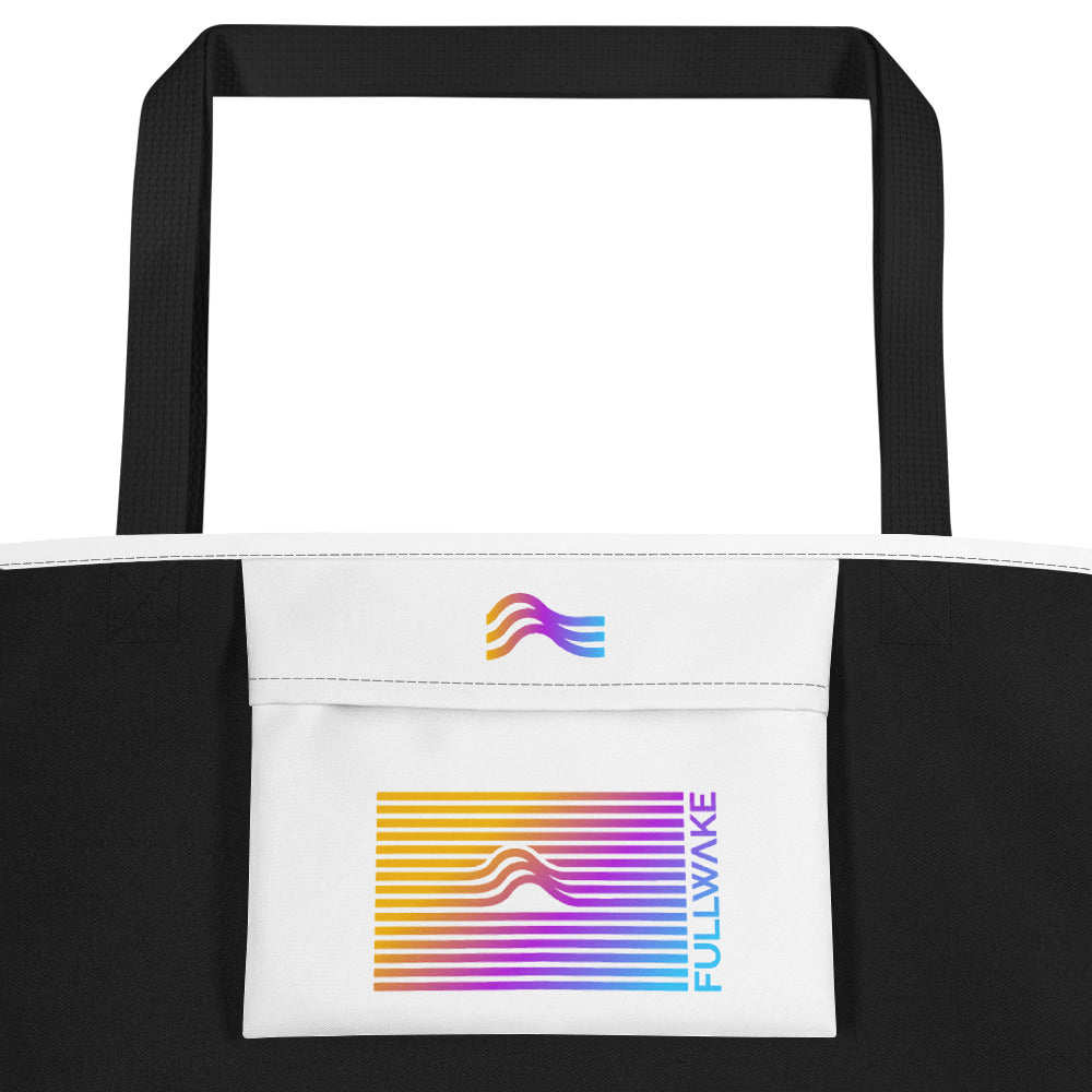 LLL Official Sunset Wave Lake Tote Bag
