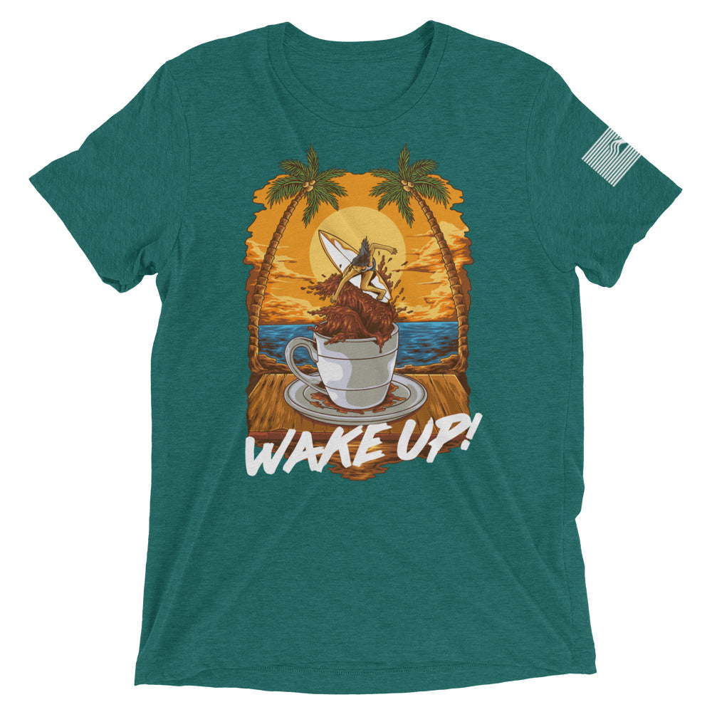 Wake Up! Coffee Co Short sleeve t-shirt