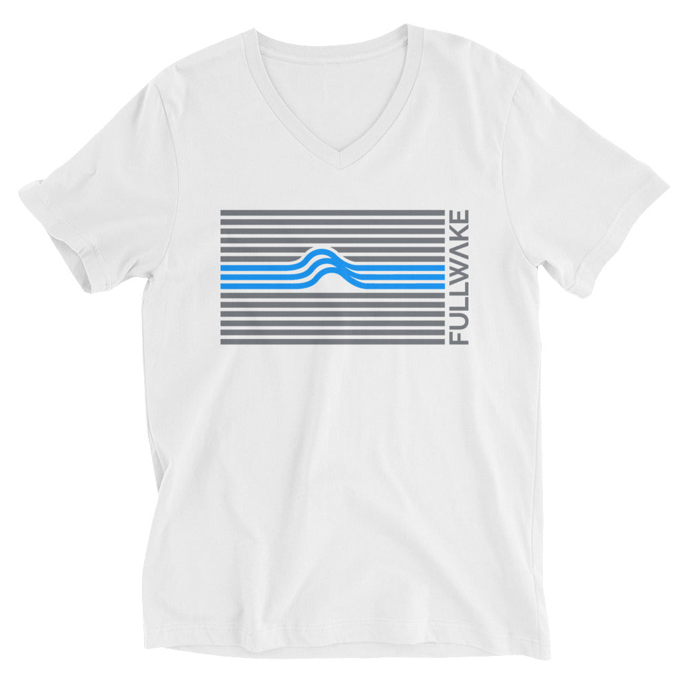 Unisex Dark Wave Blue Stripe