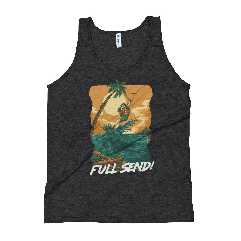 Full Send Delivery Unisex Tank Top
