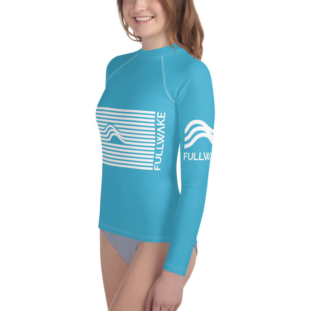 Youth Aquawear Wave Powder Blue