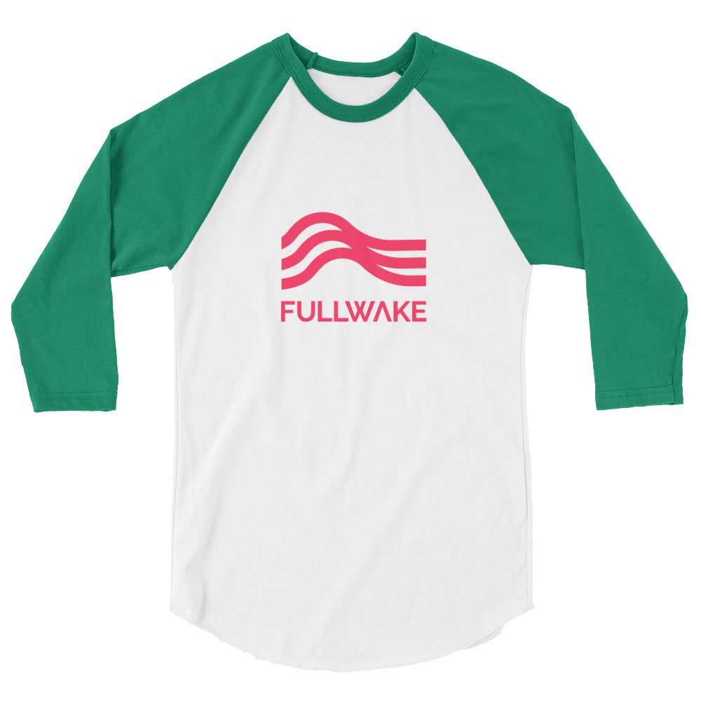 3/4 Sleeve Lake-side Raglan