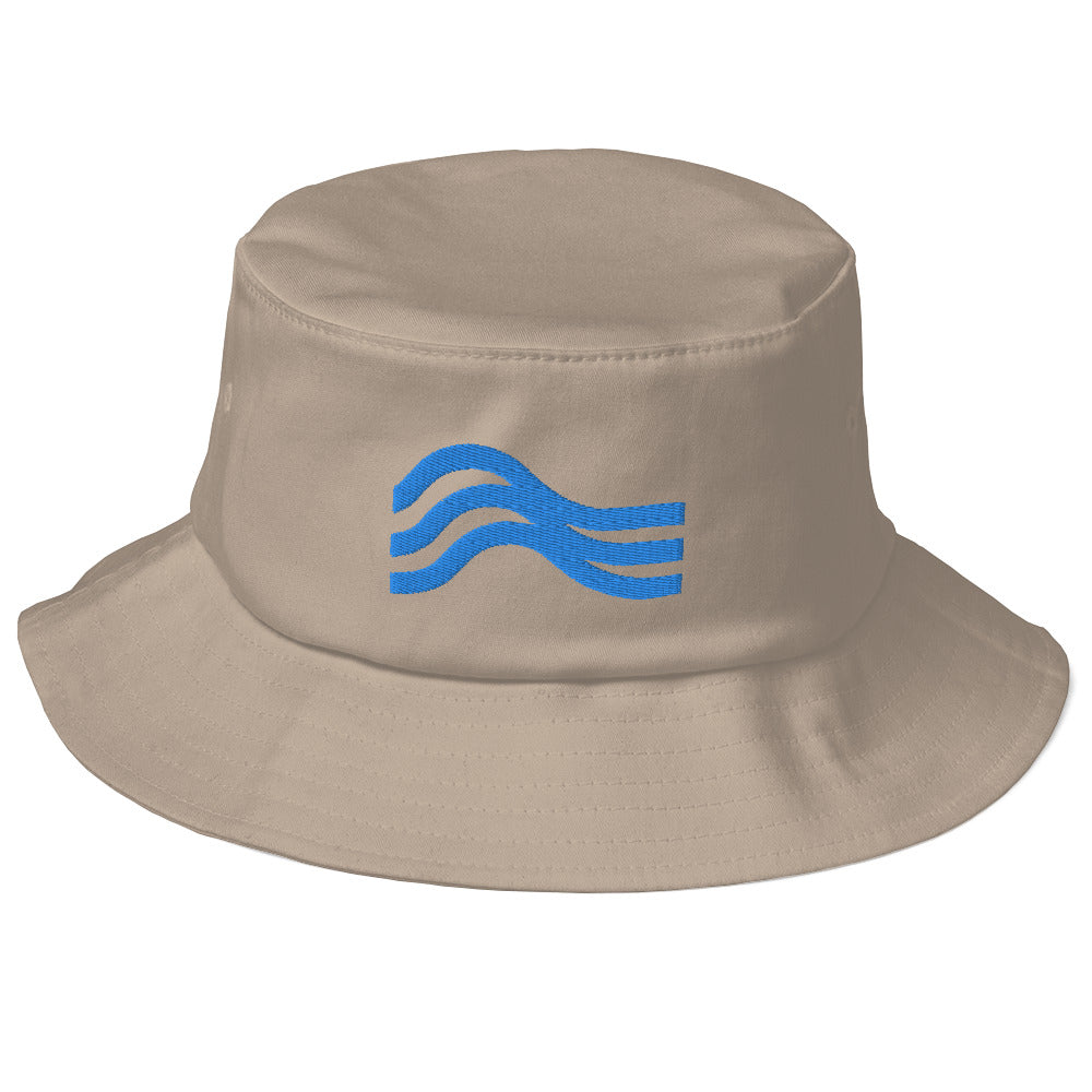 Kayla Bucket Hat Powder Blue Emblem