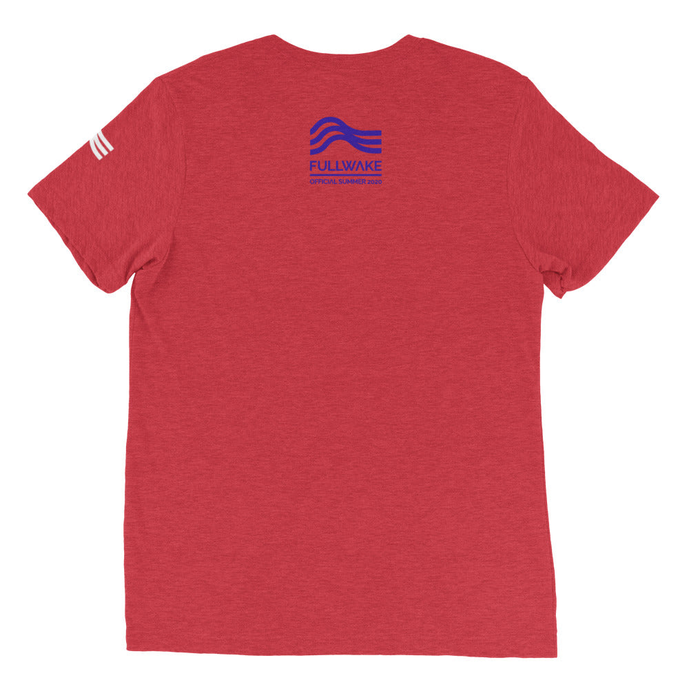 Official Summer 2020 Red White n Blue Short sleeve t-shirt