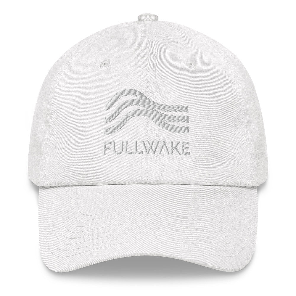 Dad Hat White Thread