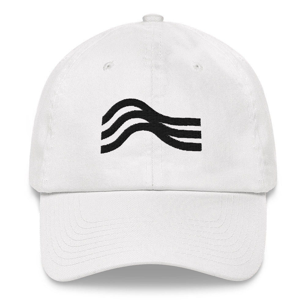 Dad Hat Stealth Black Emblem