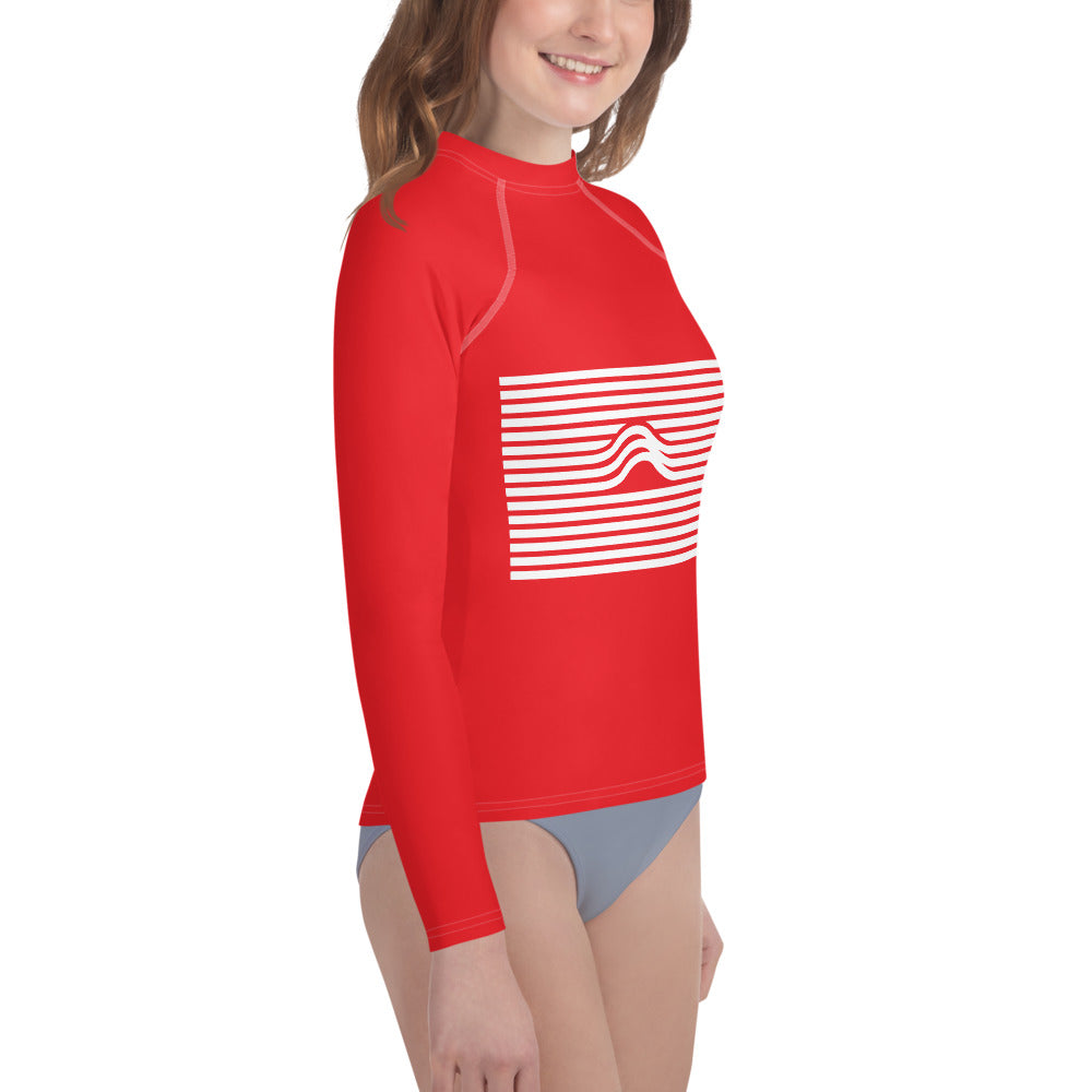 Youth Aquawear Wave Red