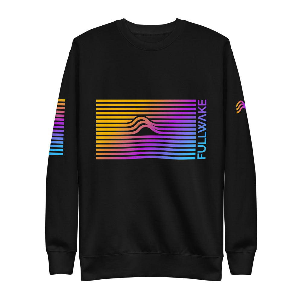 Unisex Woke Sunset Wave Pullover