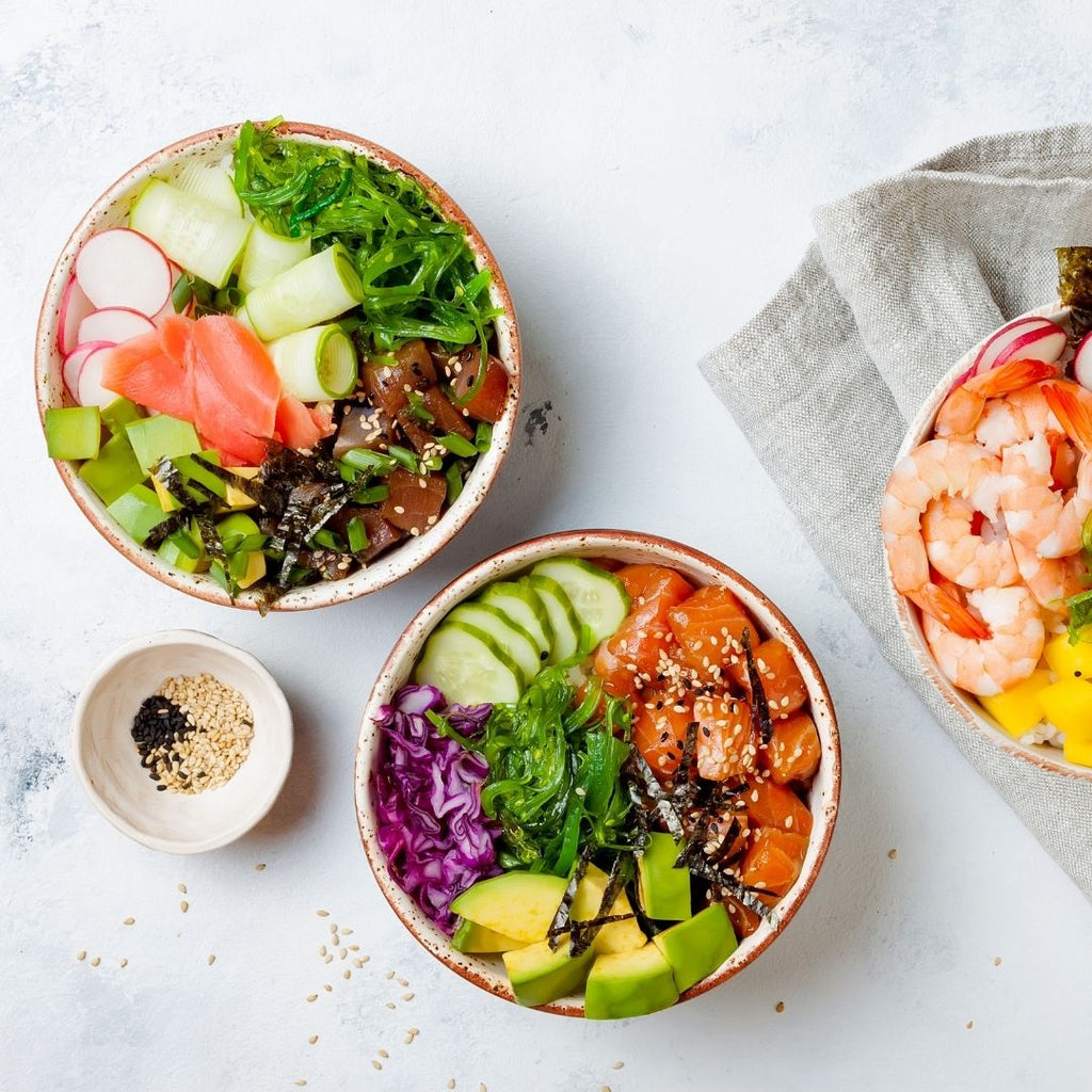 Create a healthy poke bowl at home!
