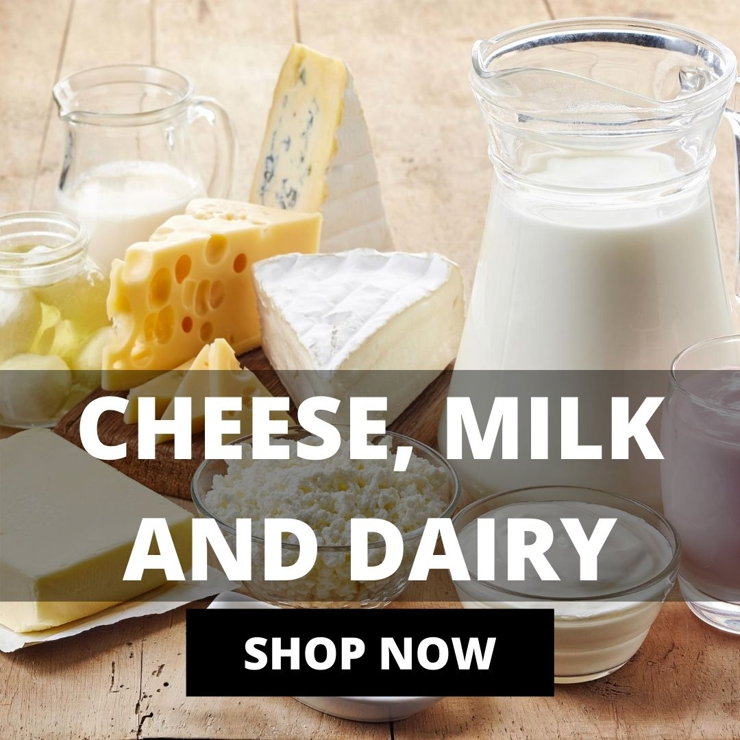 Cheese, Milk And Dairy