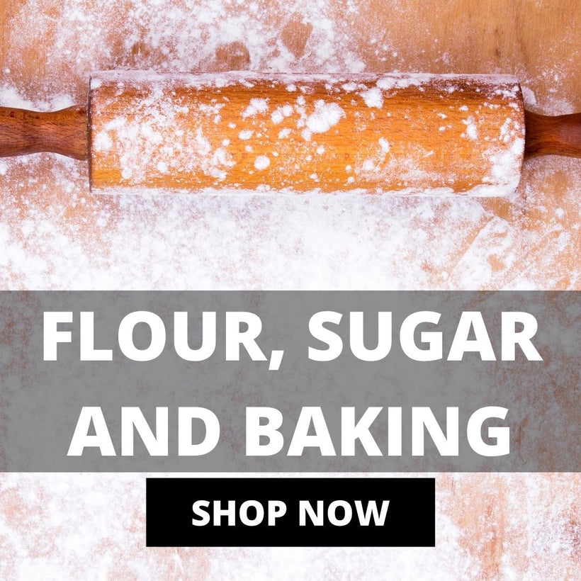 Flour, Sugar And Baking
