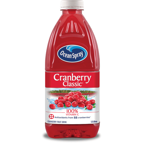 Cranberry Juice Plastic 8 x 1.5L Ocean Spray