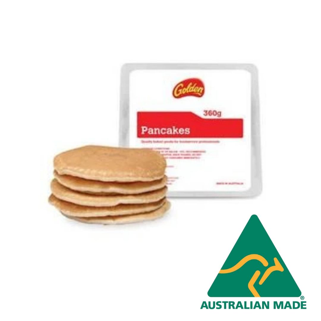 Pancakes Golden Plain 6 x 60g Frozen Golden