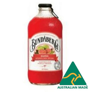 Guava Drink Glass Bottle 12 x 375ml Bundaberg