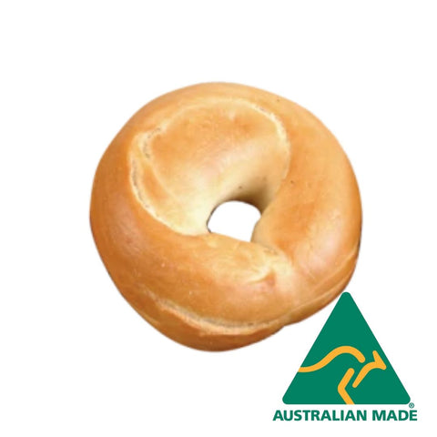 Bagel Boiled Plain Fully Baked 12cm 45 x 120g Baked Frozen Bakers Maison