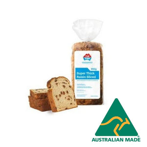 Bread Raisin Thick Sliced Toast 650g Tip Top
