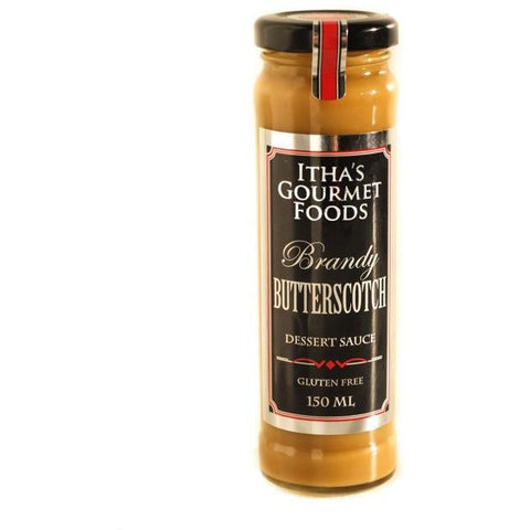 Traditional Butterscotch Pudding Sauce Gluten Free 150ml Ithas