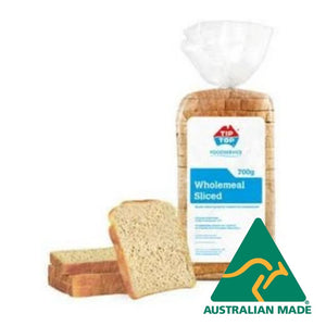 Bread Sliced Wholemeal 700g Tip Top