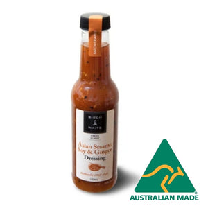 Asian Sesame Soy Ginger Dressing Gluten Free 250ml Birch and Waite