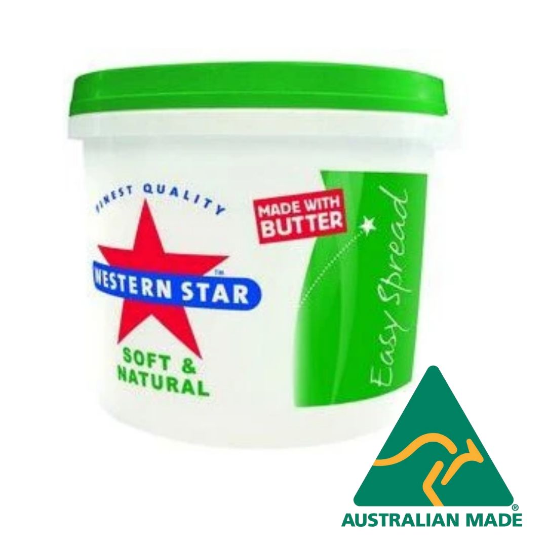 Butter Easy Spread 2kg Western Star