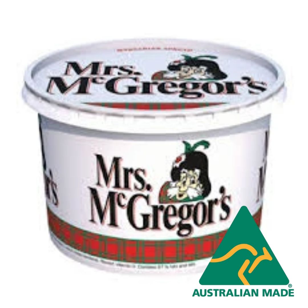 Margarine Vegetable Oil Spread 1kg Mrs Mac G