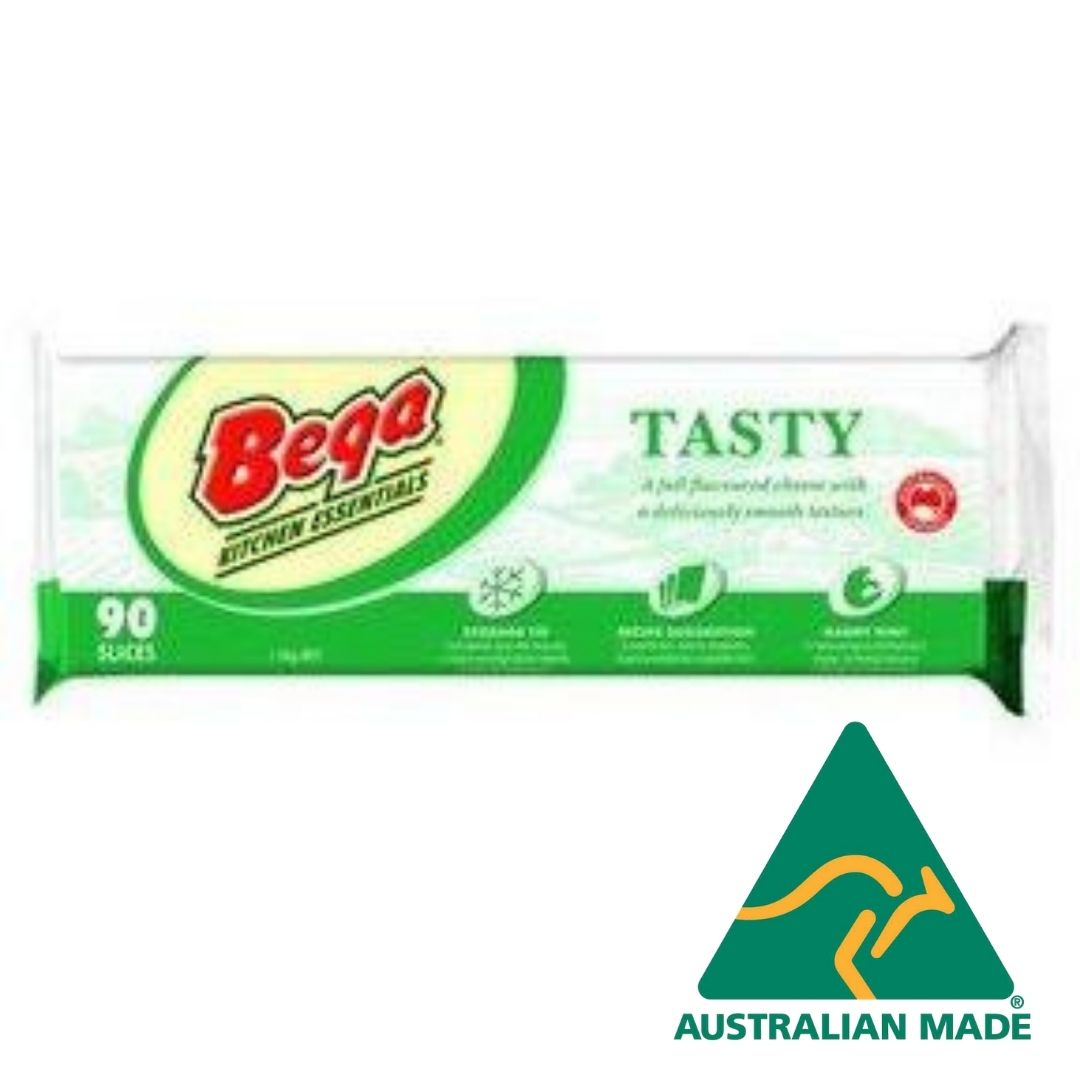 Bega Tasty Cheese Sliced  90 slices 1.5kg **Value Buy