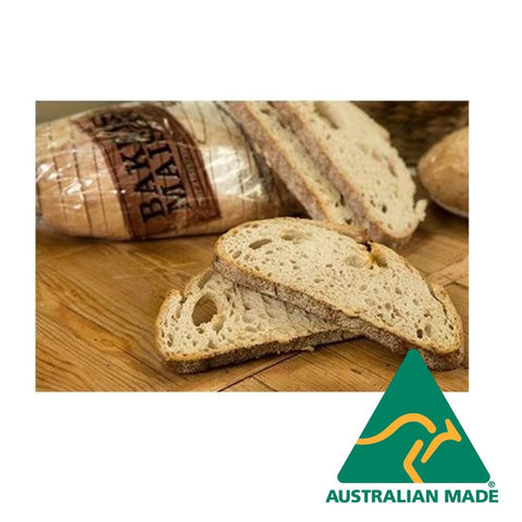 Bread Sliced Sourdough Stone Baked 1.2kg Fully Baked Bakers Maison