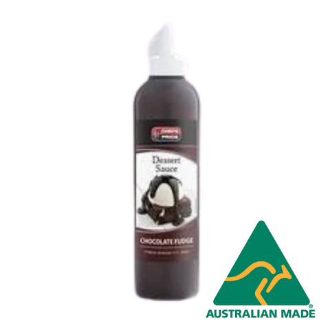 Chocolate Fudge Dessert Sauce 500ml Chefs Pride