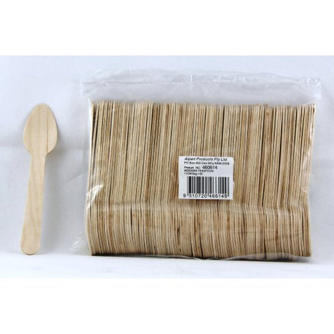 Teaspoons Wooden 100's Eco friendly Capri