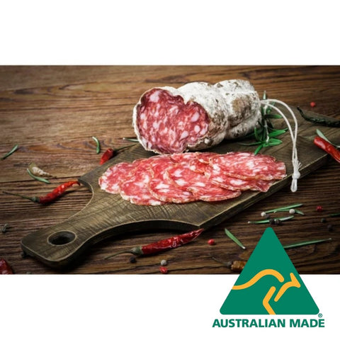 Salami Hot 100g  Pinos Dolce Vita (Allow 2 days)