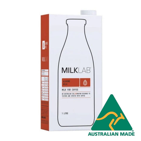 Almond Milk UHT 8 x 1L Milk Lab