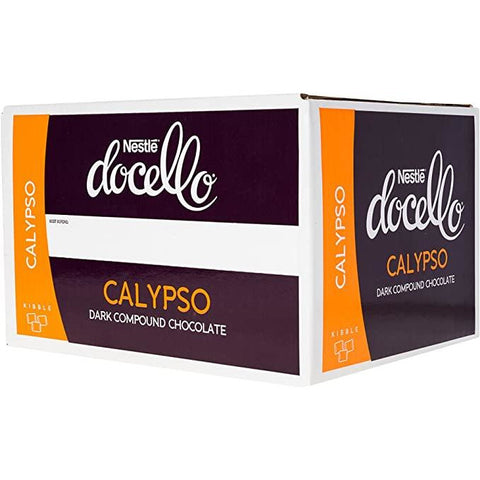 Dark Chocolate Compound Buttons Calypso 5kg Nestle