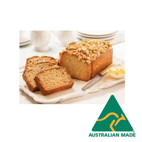 Banana Bread Gluten Free Pre Sliced Frozen 12 x 95g Priestleys