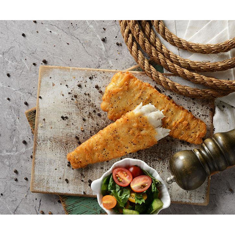 Fish Fillets Tempura Battered 30 x 115g Frozen Pacific West Sustainable fish