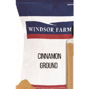 Cinnamon Cassia Vera Ground 1kg Resealable Bag Windsor Farm