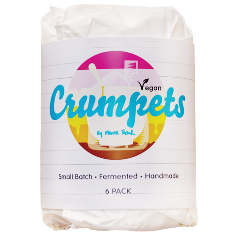 Crumpet Vegan Coconut Crumpets By Merna 4 x 6 pack-Allow 3 days