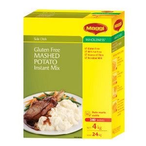 Potatoes Instant Mashed Gluten Free 4kg Maggi