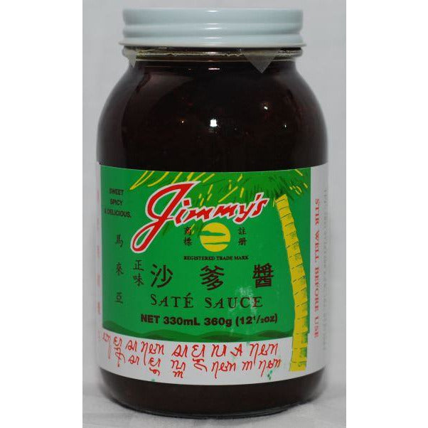 Satay Sauce 330ml Jimmys