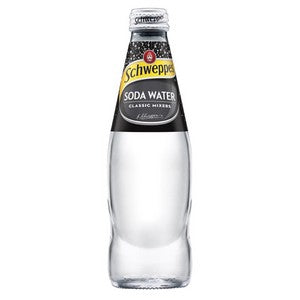 Soda Water Glass Bottles 24 x 300ml